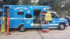 Westwood EMS attended the Glen Moore Fire Company's annual fire prevention open house