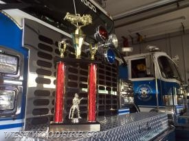 "Engine 44-5 was awarded as the ""Best Appearing"" Tanker at the Kennett Fire Company's housing ceremony"