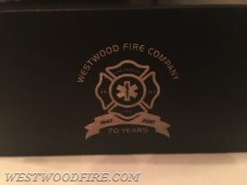 Incentive awards were provided to responders, engraved halligan bar bottle openers with custom case.