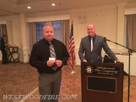 Life Membership presented to Chris Biddle.