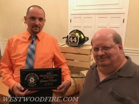 Fire Police Officer of the Year, Jim Pilotti