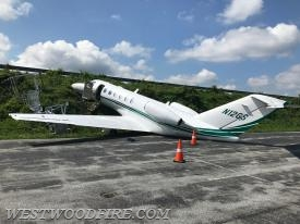 A plane left the tarmac Sunday at the Chester County Airport