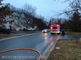 Ambulance 44-1 on the scene