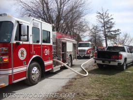 Engine 31-1 being supplied by Engine 31-2.