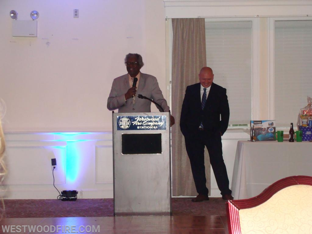 The Honorable Grover E. Koon was the guest speaker and entertainment for the night!