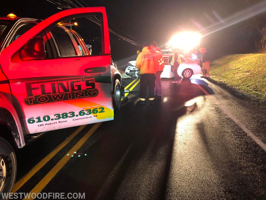Fling's towing removed both vehicles from the roadway.