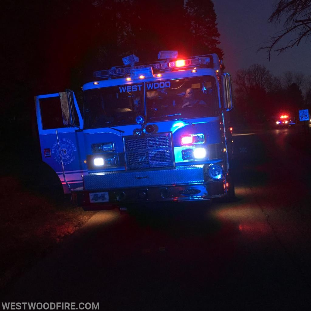 Rescue 44 on scene of an investigation on Country Club Road.