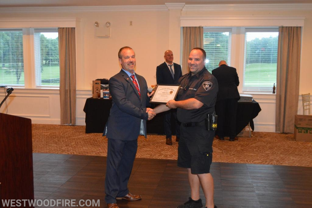 Multiple members were recognized at the 72nd Annual Banquet.