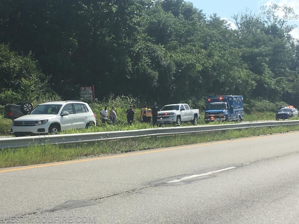 Battalion 44 and Ambulance 44-1 on the scene.