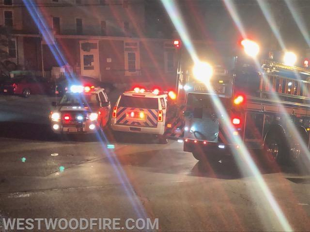 Westwood units on scene.