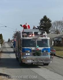 Sleigh 44 delivers the Christmas Spirit around Valley Township.