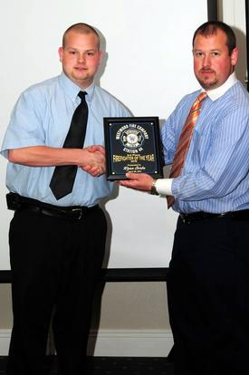 2010 3rd Place Firefighter of the Year Ryan Gorba