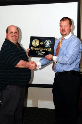 2010 1st Place Fire Police Officer of the Year Dave Leary