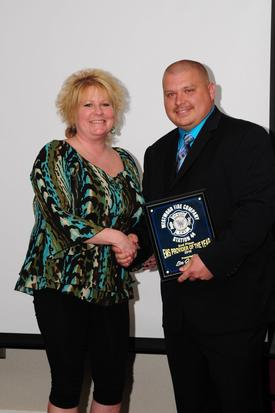 2010 2nd Place EMS Provider of the Year awardee Deputy EMS Chief Lisa Jo Ranck