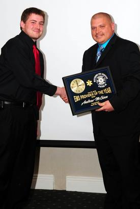 2010 1st Place EMS Provider of the Year awardee EMS Lieutenant Andrew McGinn