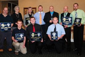 2010 Westwood Fire Company award recipients group