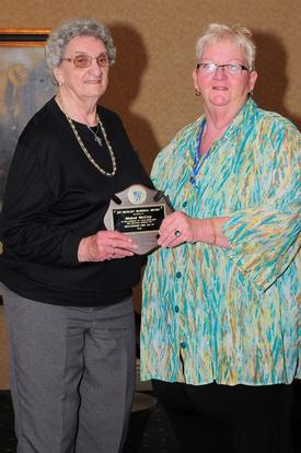 2010 Joseph Sweigart Memorial President's Award recipient Mabel McCoy
