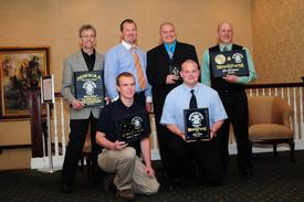 2010 Fire Award recipients
