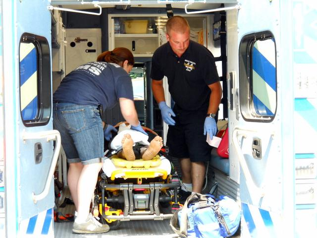Ambulance Assists at Auto Accident in Highland Township ...