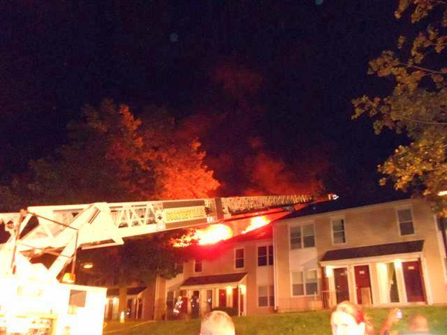 Apartment Building Fire in Coatesville City - Westwood Fire Company